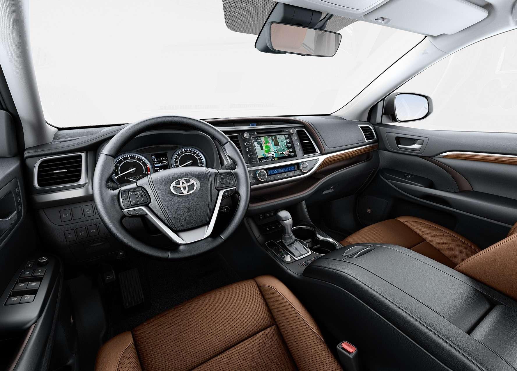 Обновленный Toyota Highlander: названы рублевые цены— фото 691868