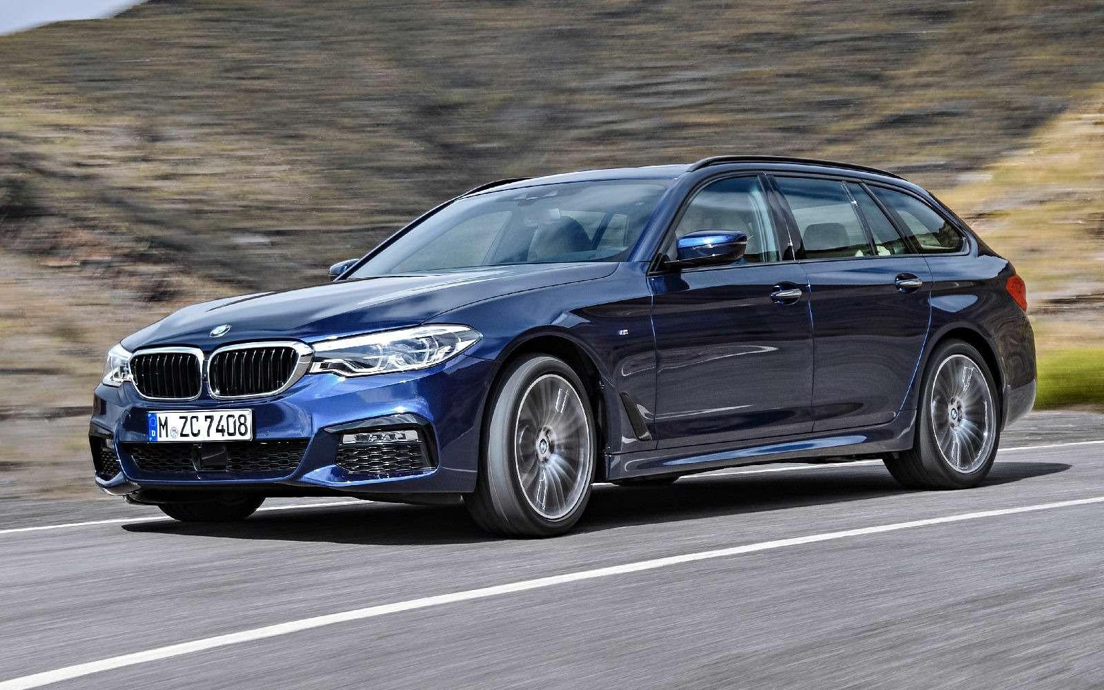 Новая «пятерка» BMW— теперь искузовом универсал— фото 701190