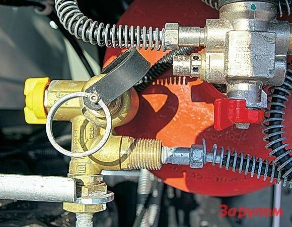 Запорный вентиль— высокоточное изделие отлидера вэтой области компании EMER. Пожарная безопасность утакой системы нениже, чем убензиновых машин.