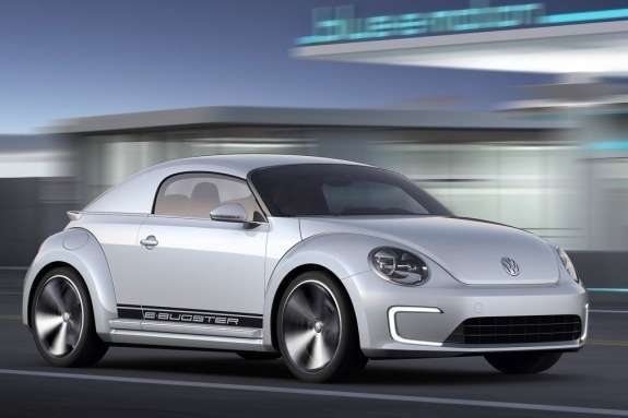 Volkswagen E-Bugster Concept side-front view