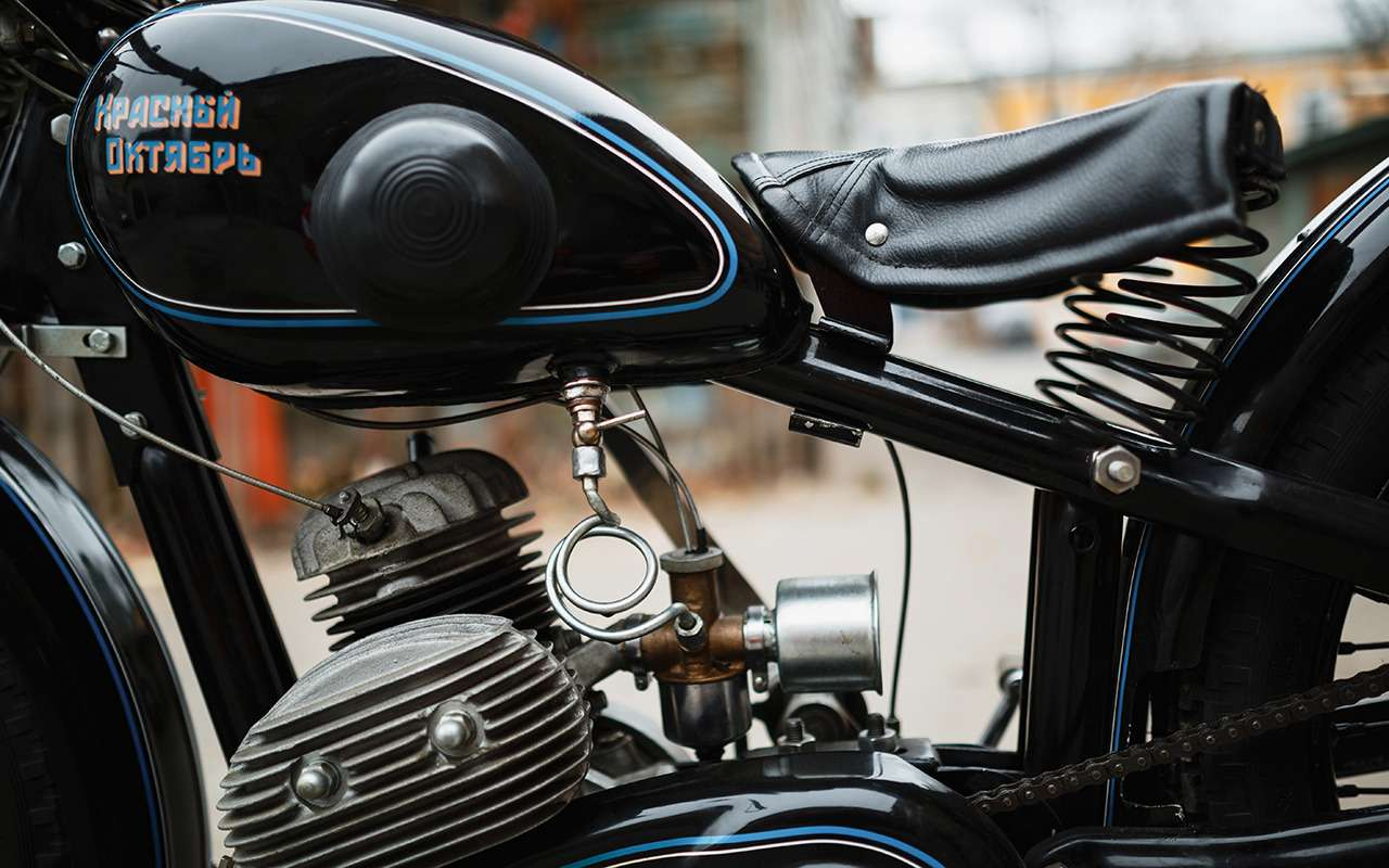 Первый серийный советский мотоцикл: история одной копии— фото 908499