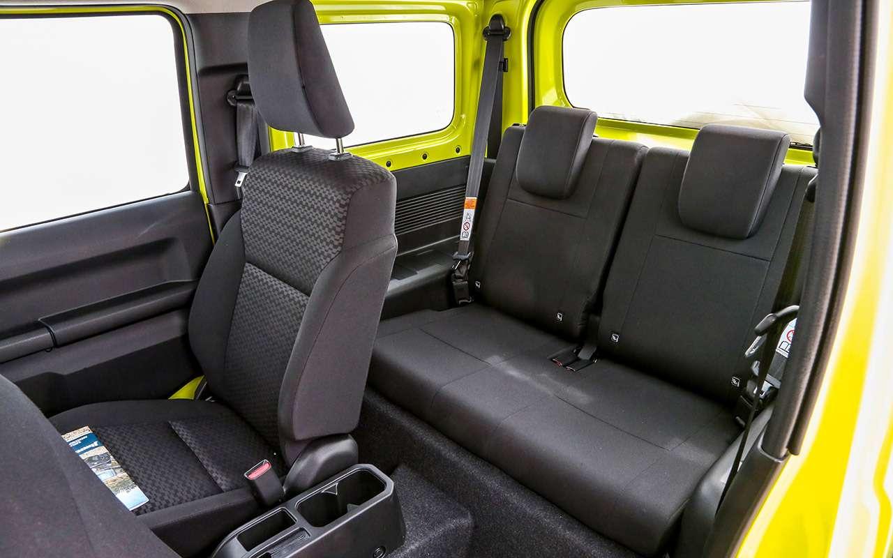 Новый Suzuki Jimny: первый тест-драйв ивидео— фото 998209