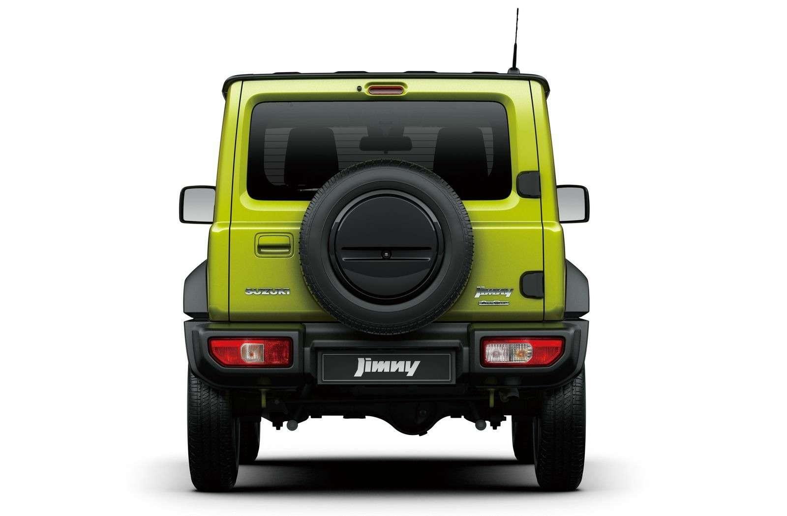 Новый Suzuki Jimny: объявлены технические характеристики— фото 884463