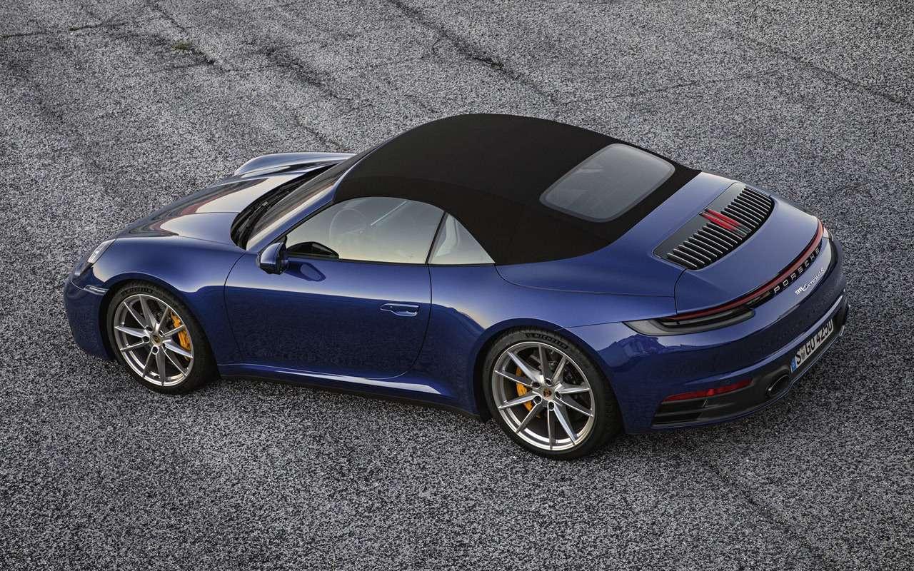 Всеоновом кабриолете Porsche 911— фото 939357
