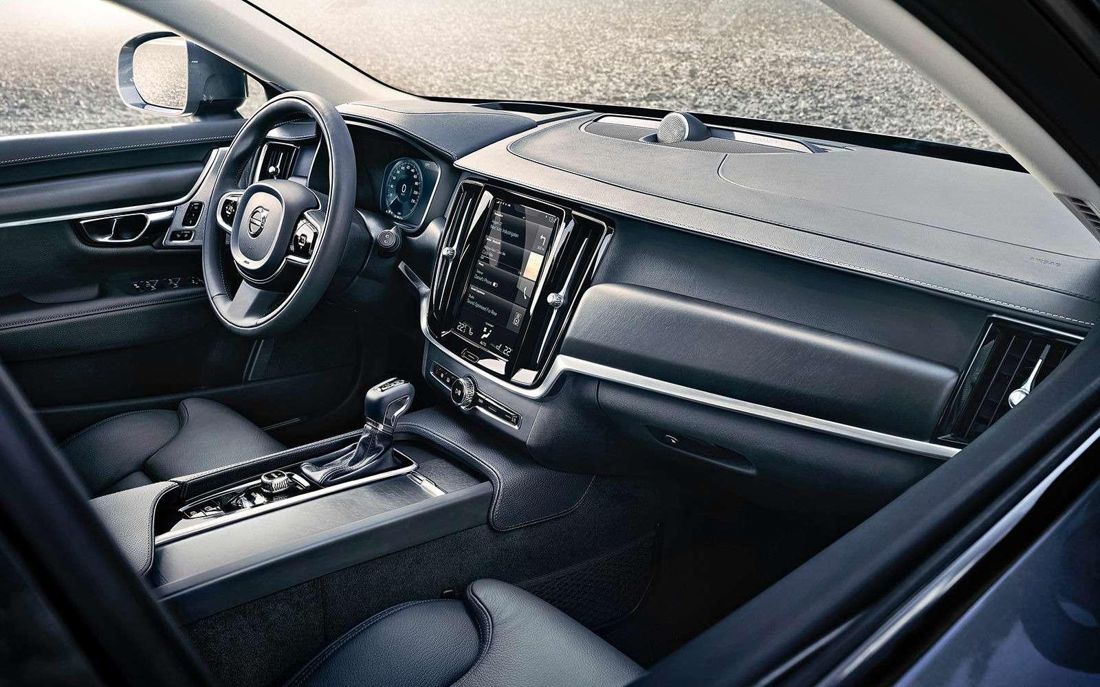 Новый Volvo V90 Cross Country: не чемодан!— фото 654916