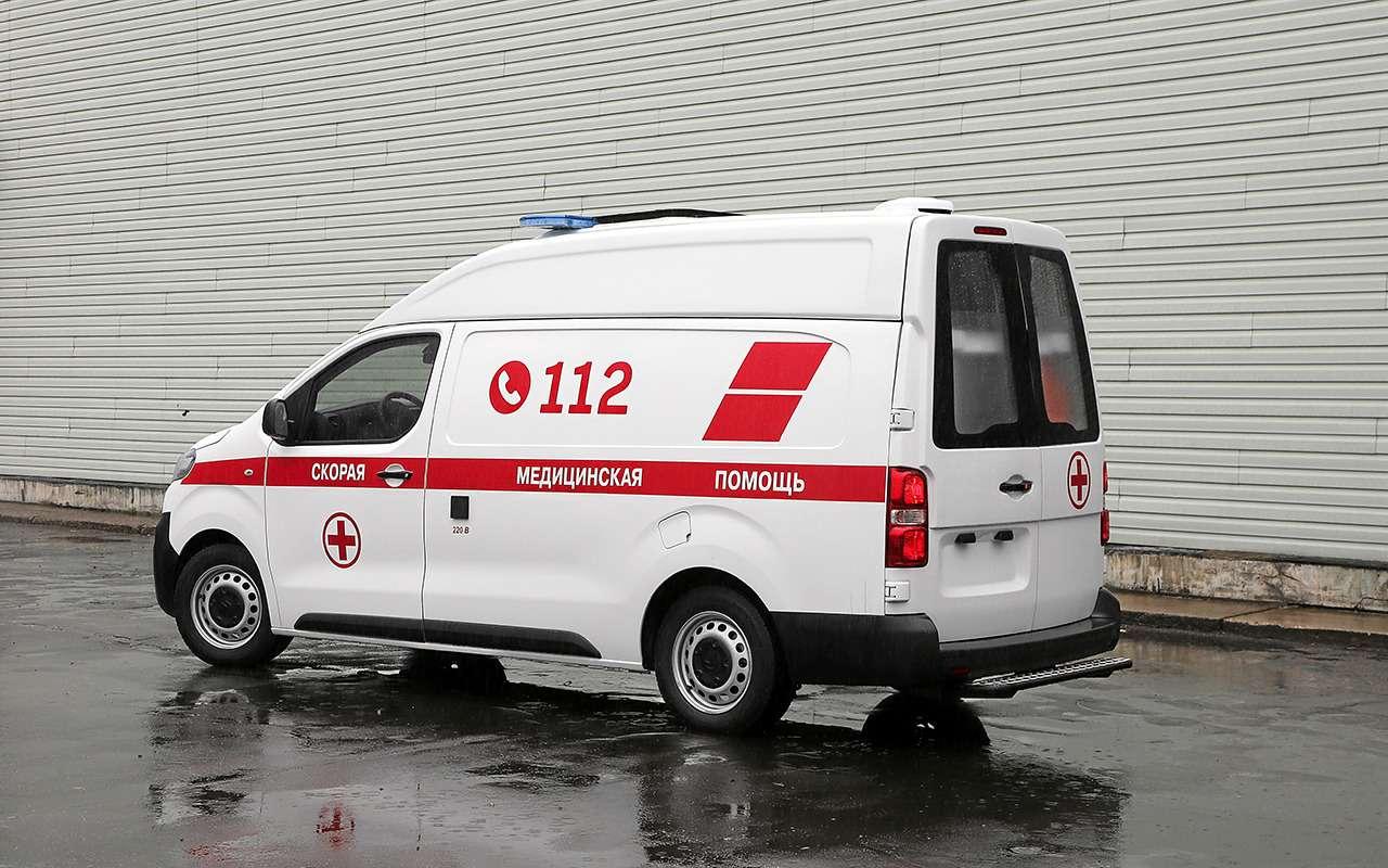 Какустроен современный автомобиль скорой помощи— фото 875249