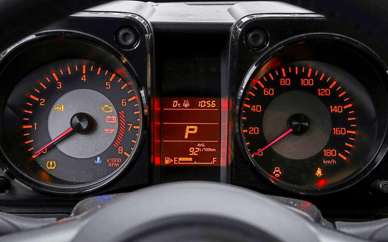 Удовольствия за1,5млн: Kia Soul против Suzuki Jimny— фото 1085636