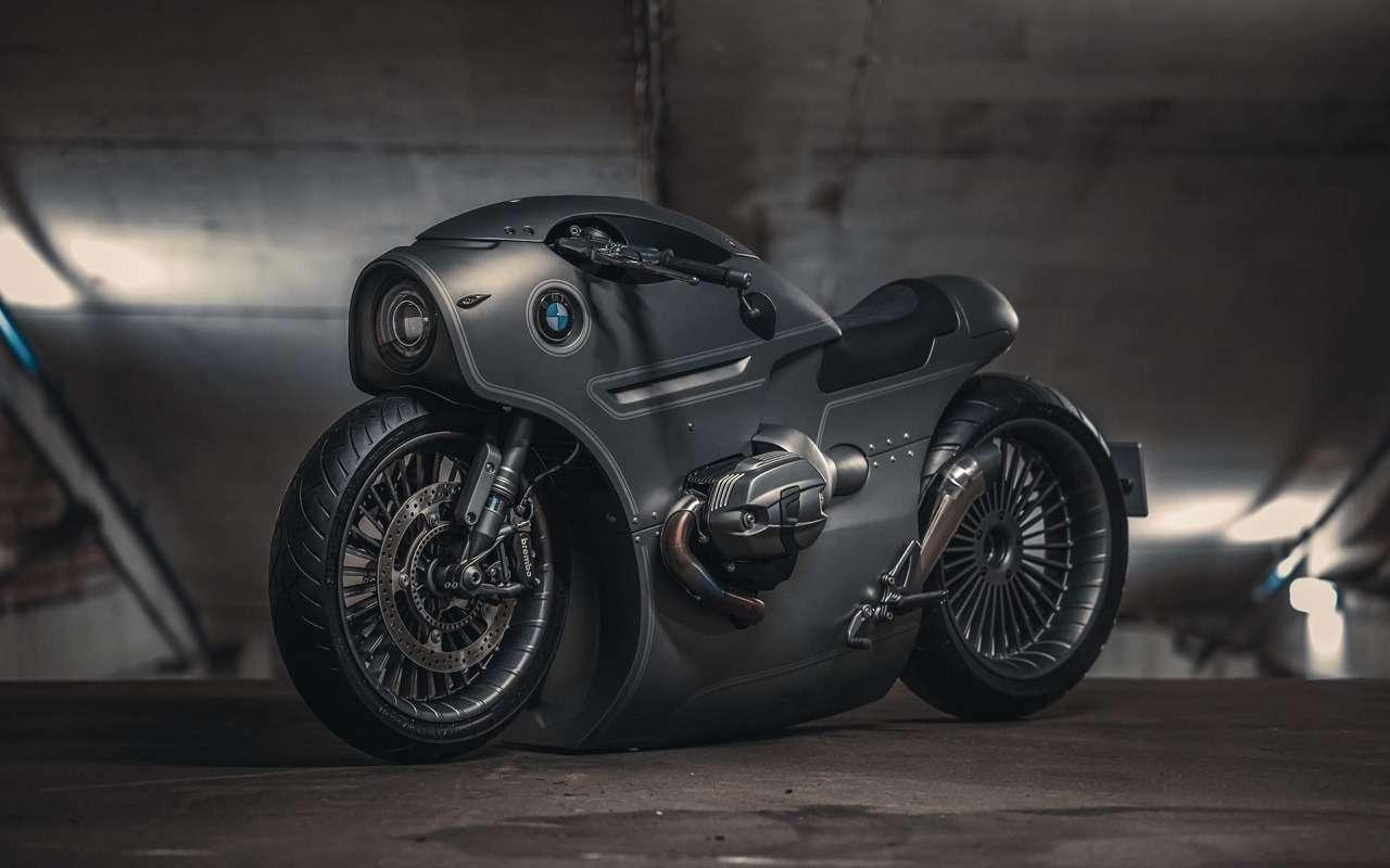 Это вообще реально? Российский мастер создал мотоцикл позаказу BMW Motorrad— фото 1138769