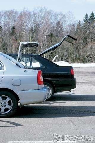 Тест-драйв Hyundai Accent, Chery Amulet. Восточные единоборцы— фото 65091