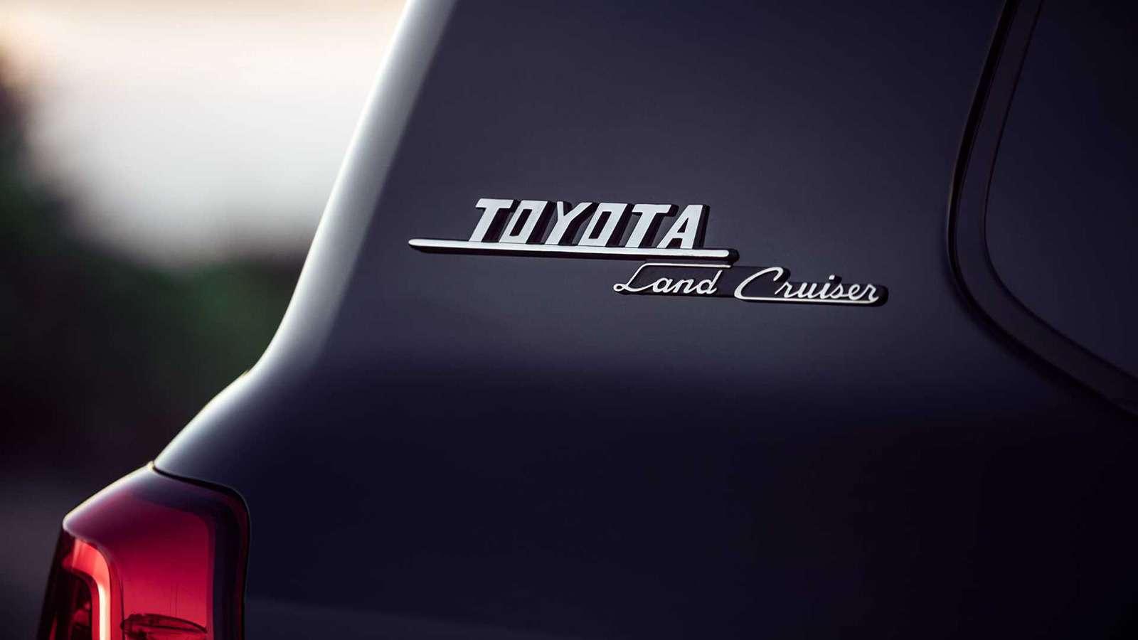 Toyota Land Cruiser получит новую эксклюзивную версию— фото 942914