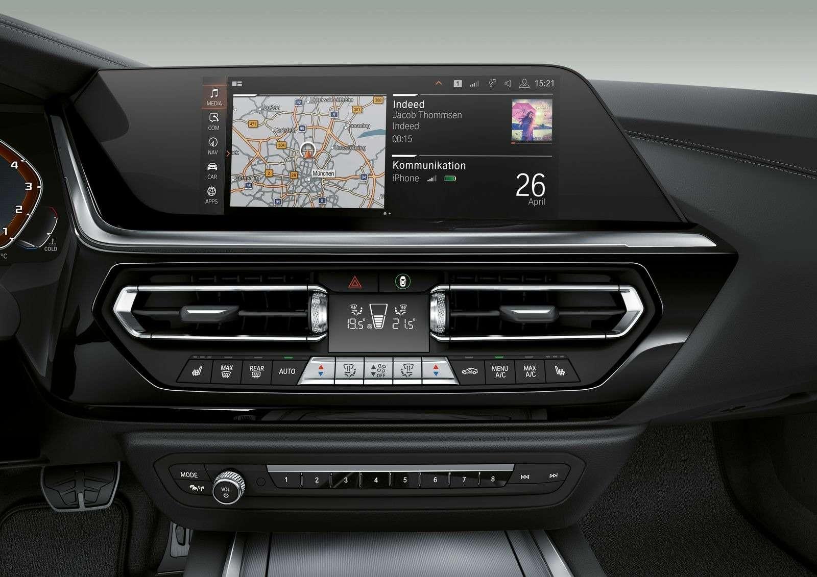 Новый родстер BMW Z4представлен официально— фото 898532