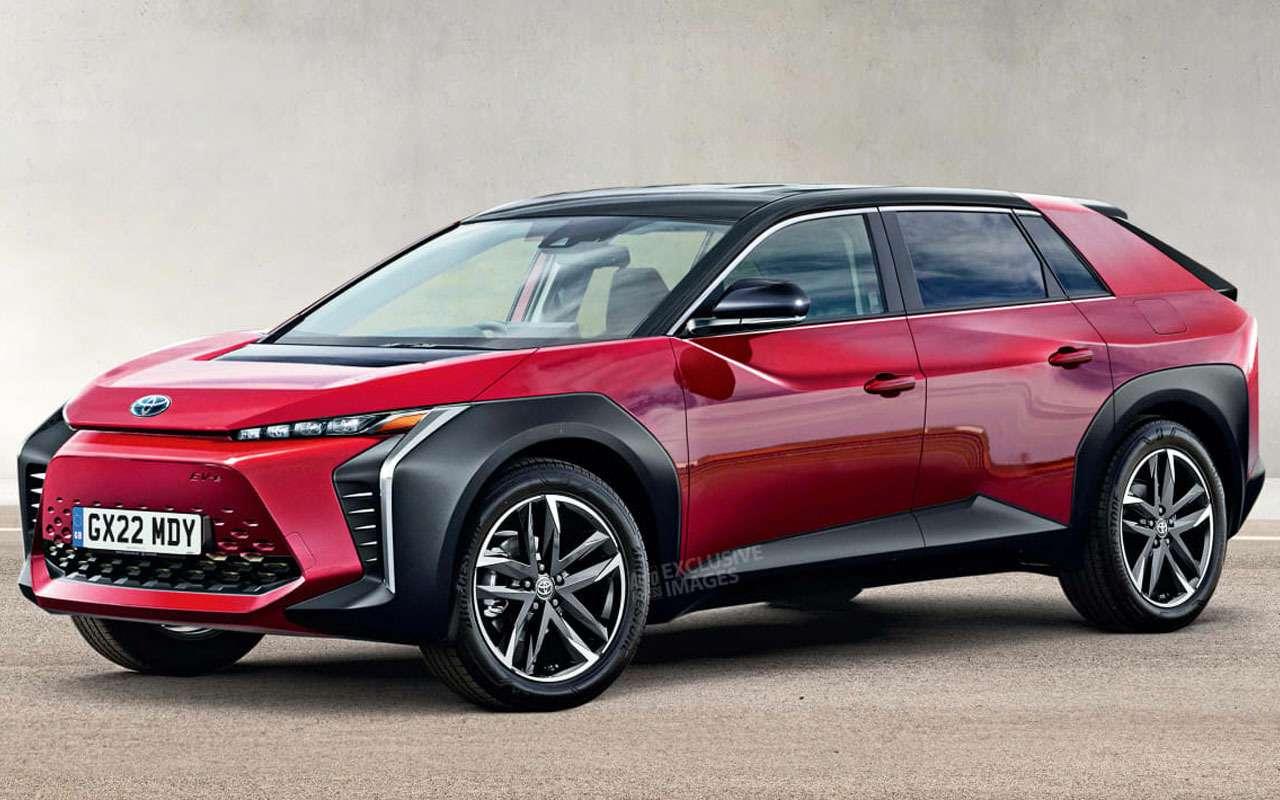 Новая Toyota BZ— кроссовер, который заменит RAV4— фото 1208274