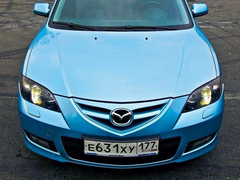 Комплектация Mazda 3: три пишем, пять вуме— фото 89695