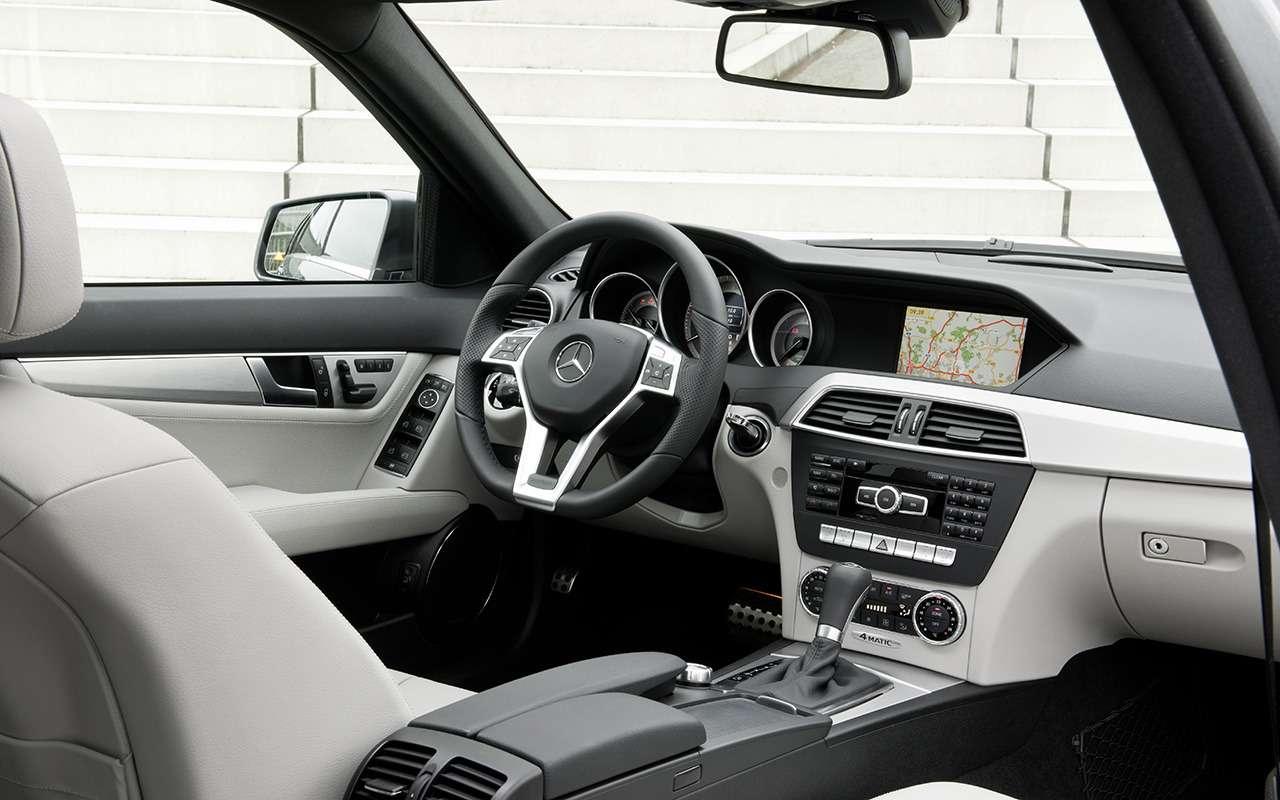 Mercedes C-класса иконкуренты: что брать сегодня навторичке— фото 1278160