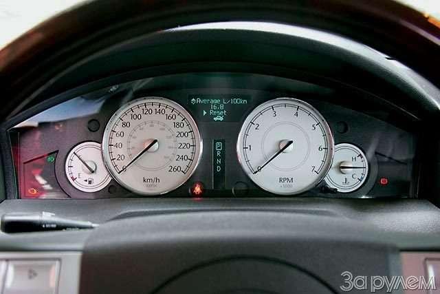 Chrysler 300C. Большой дорожный чемодан— фото 57089