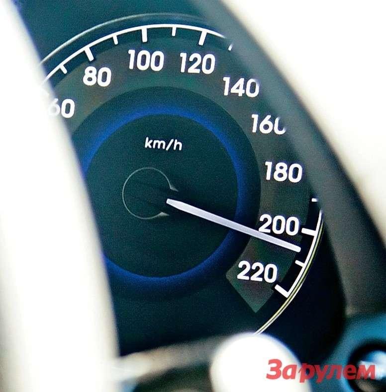 Самый шустрый изтрех— «Солярис». Однако нетолько едет быстрее других, ноибензин высасывает почти стакой жескоростью.