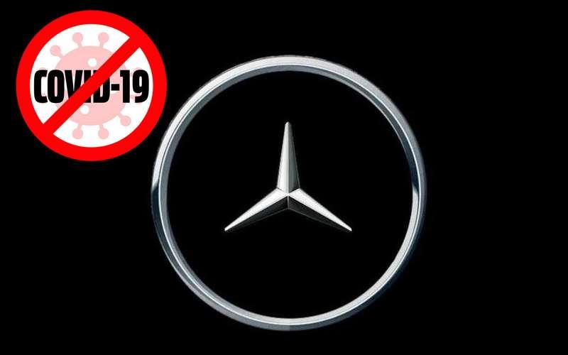 Новый логотип Mercedes-Benz: дистанцированный