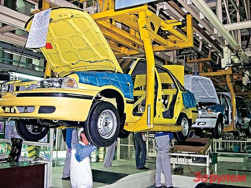 Требования ккачеству собранных автомобилей— намировом уровне. Это подтверждают многочисленные международные сертификаты.