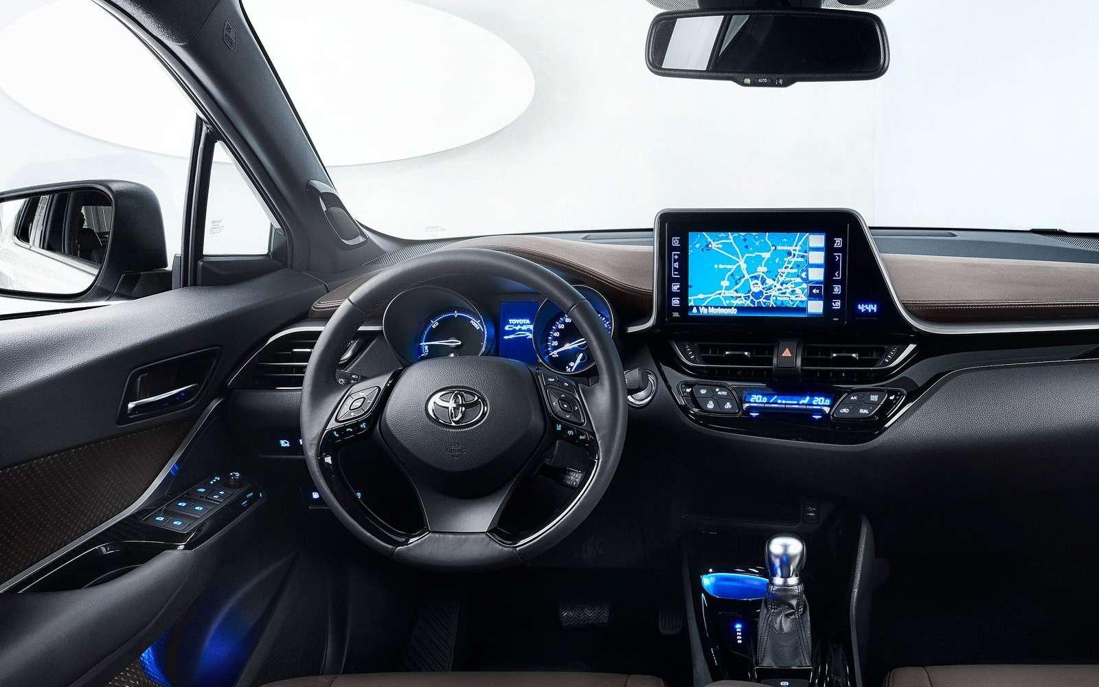 Toyota С-HR: комплектации ицены дляРоссии— фото 882732