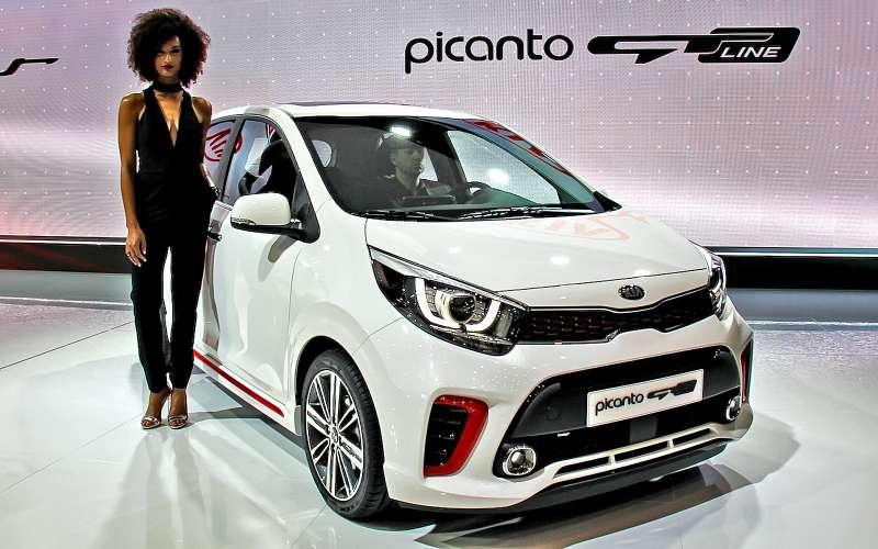 Киа представила вЖеневе «заряженную» Picanto