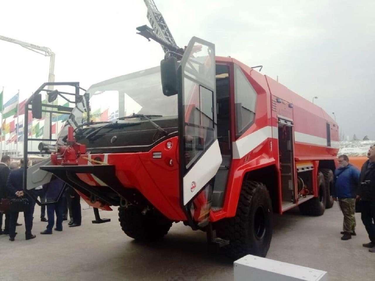 Раскрыты характеристики нового «пожарного монстра» БАЗ— фото 1248355