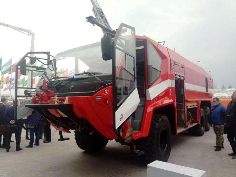 Раскрыты характеристики нового «пожарного монстра» БАЗ
