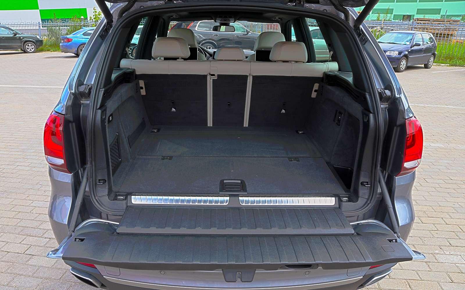 Новый Land Rover Discovery против конкурентов— тест ЗР— фото 784691