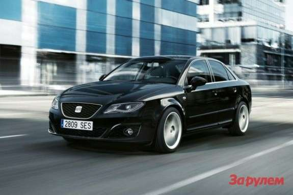 SEAT Exeo side-front view