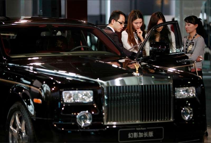 Премьера Rolls-Royce Phantom вКитае