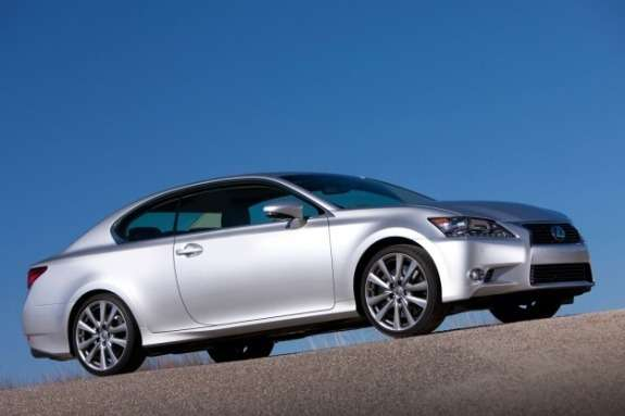 Lexus GS Coupe rendering side-front view