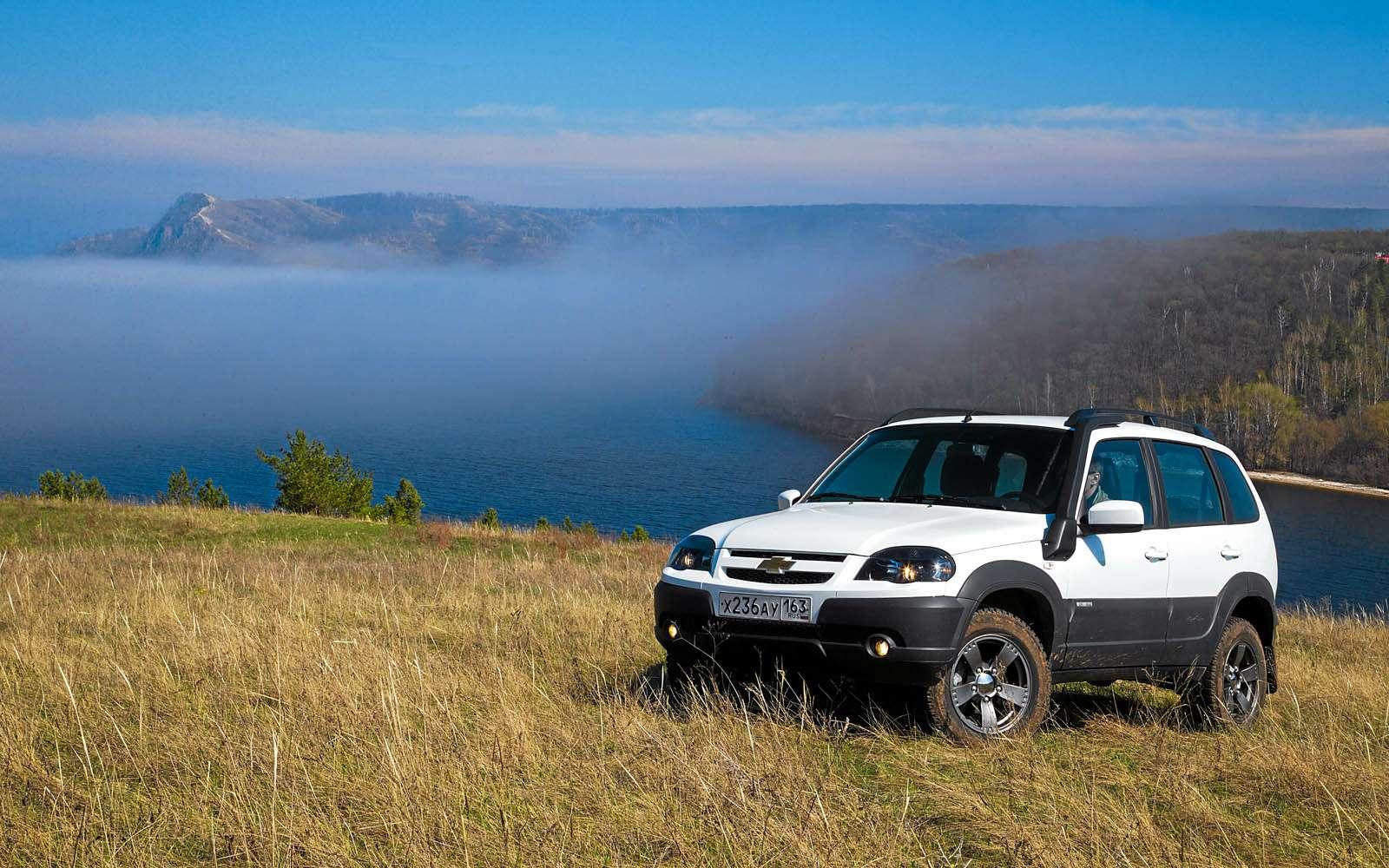 Chevrolet Niva: 10000 километров замесяц— фото 603196