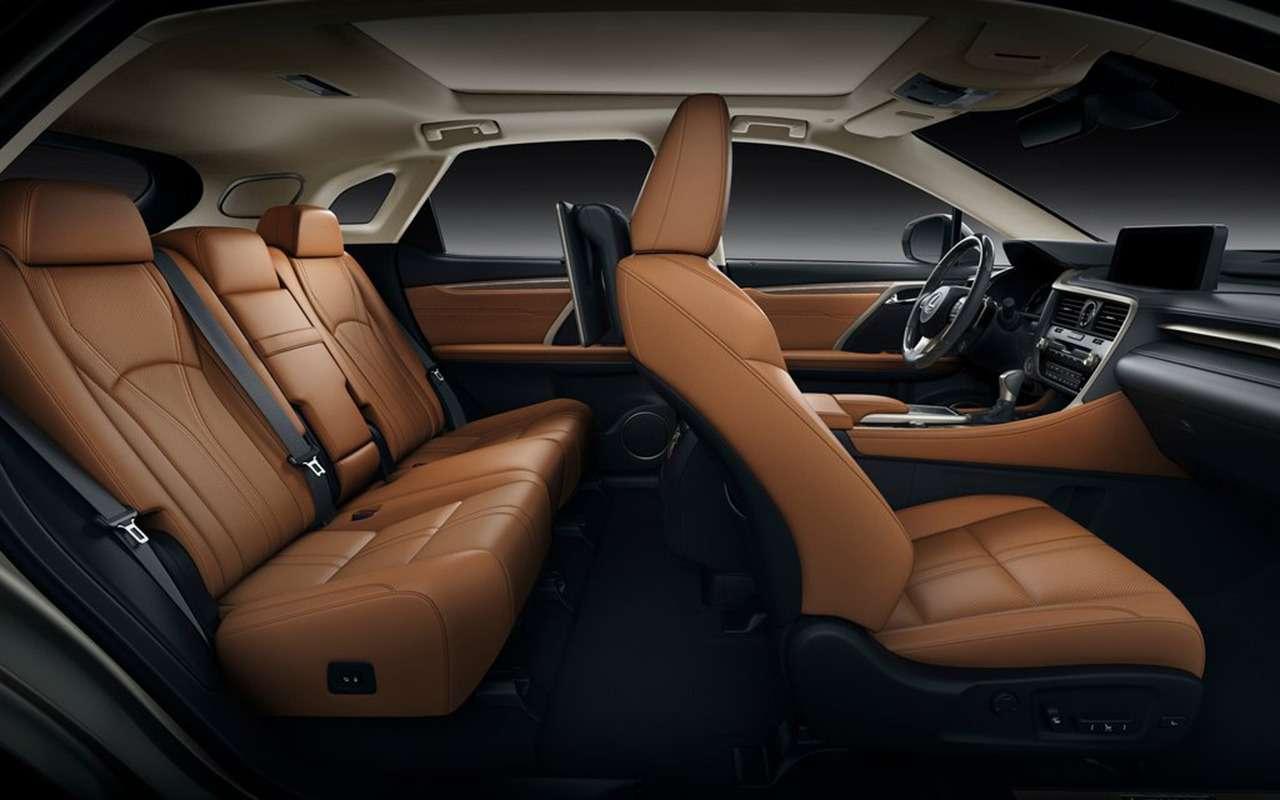 Обновленный Lexus RX: «подтяжка» лица— фото 977487