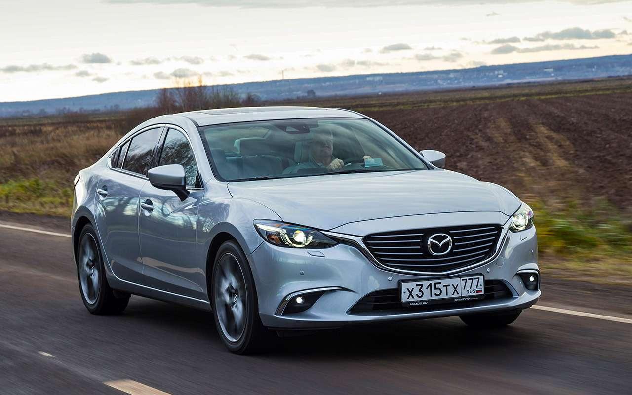 Hyundai Sonata против конкурентов— большой тест ЗР— фото 834895