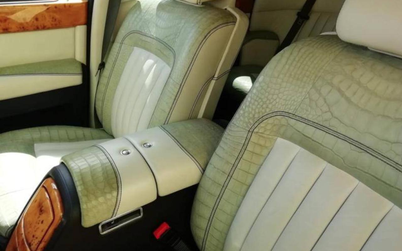 В Италии арестован Rolls-Royce изРоссии— заобивку кожей редкого крокодила— фото 1249226