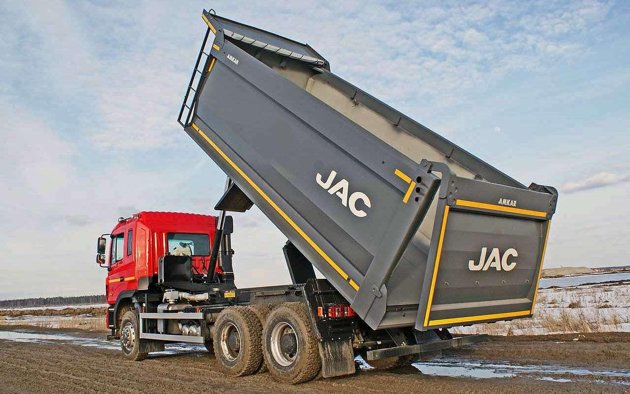 Самосвал JAC N350: подробный разбор— фото 1263824