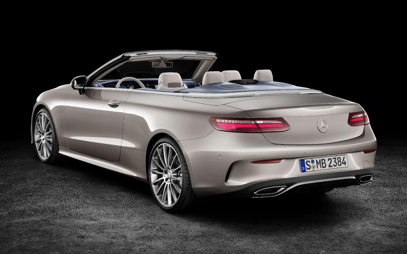 Новый кабриолет Mercedes-Benz E-класса оснастили полным приводом— фото 715153