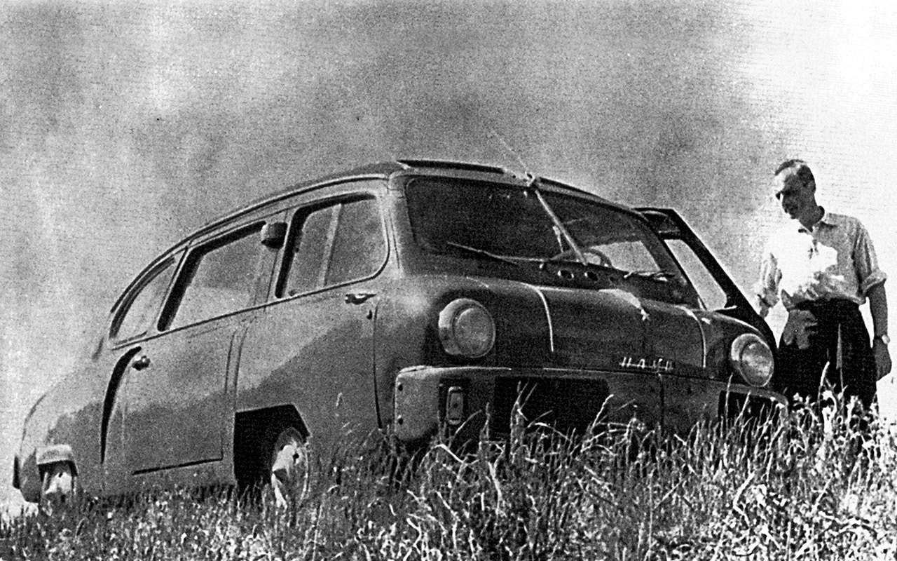 Всяправда офантазиях: авангардные проекты автопрома СССР— фото 897957