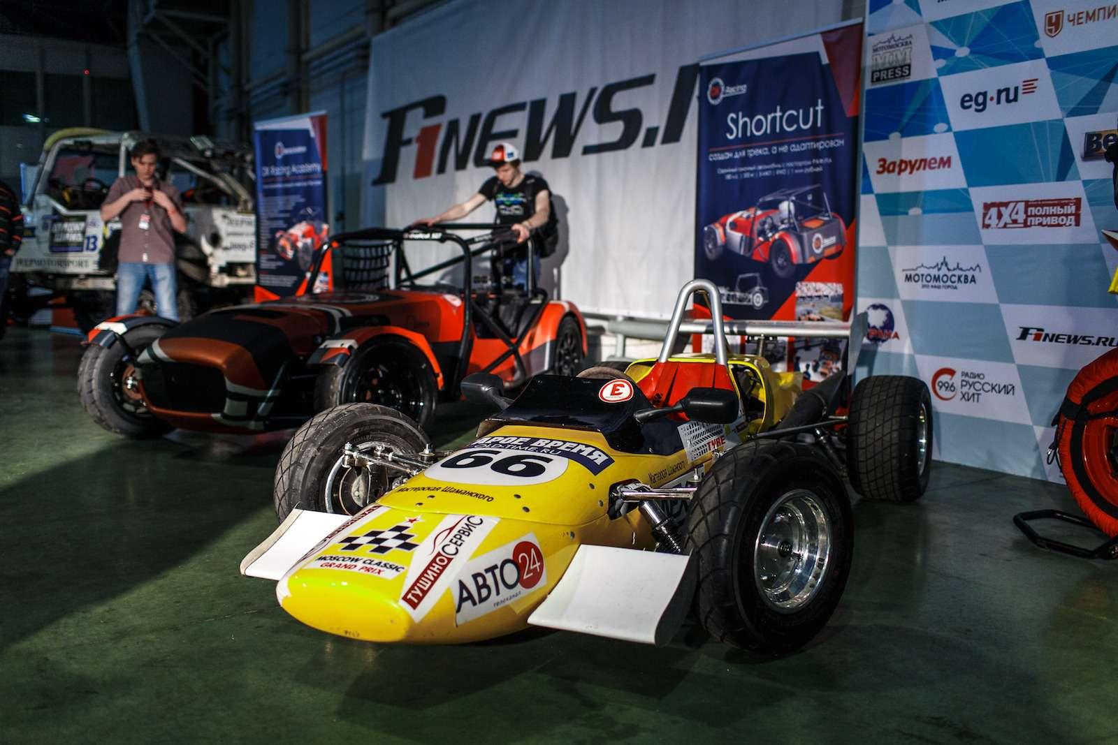Самые горячие спорткары Motorsport Expo 2017