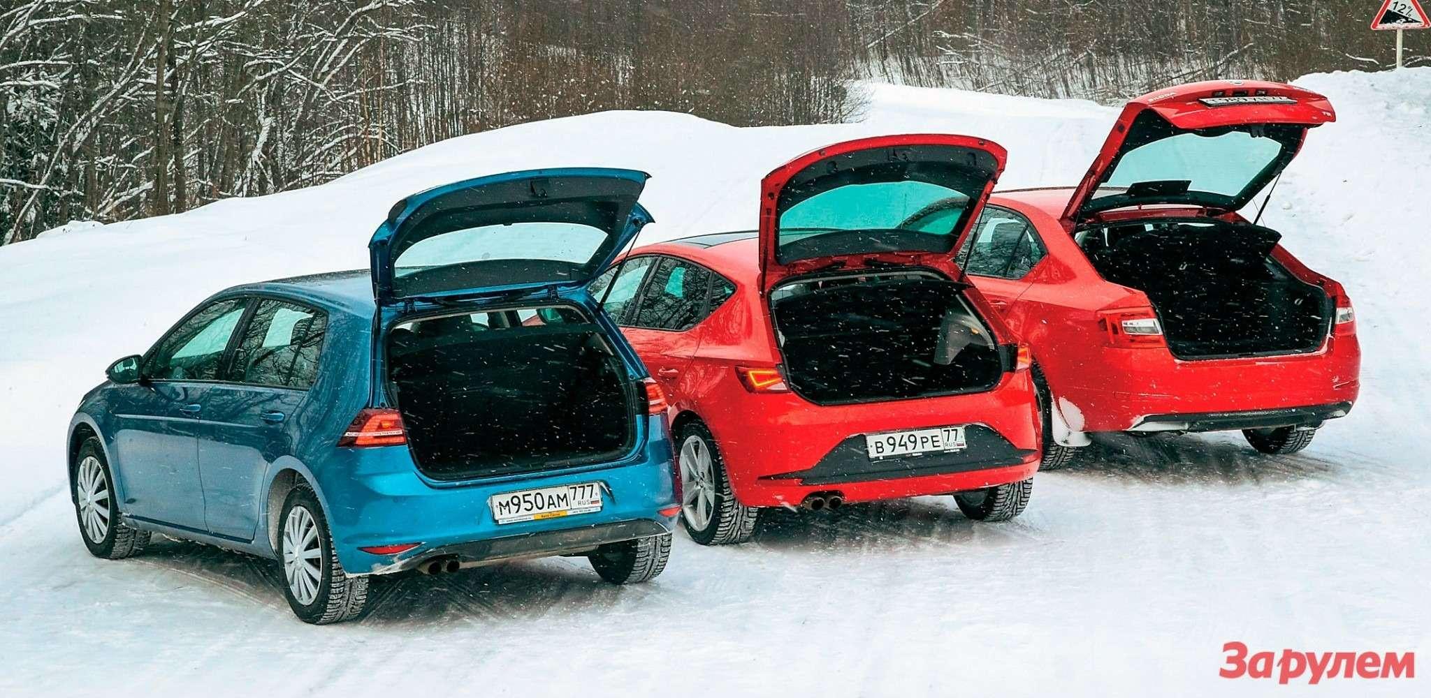 Наодной платформе: VWGolf, SEAT Leon, Skoda Octavia — фото 263751
