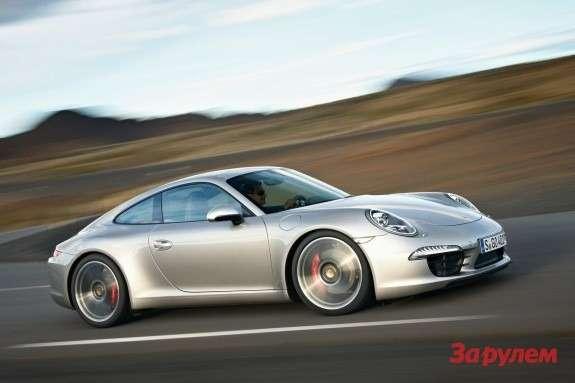Porsche 911 Carrera Sside-front view