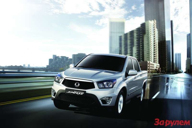 SsangYong Actyon Sports 2