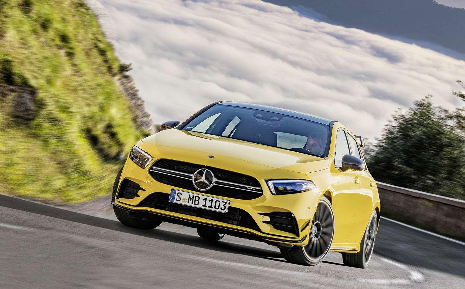 Самый дешевый Mercedes-AMG: разбираем его надетали— фото 906210