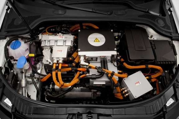 Audi A3e-tron prototype electric powerplant