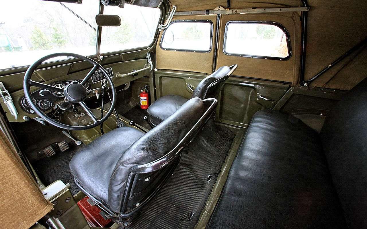 Современник трех генсеков— ГАЗ-69 отмечает 65лет— фото 769195