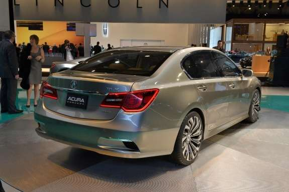Acura RLX Concept side-rear view
