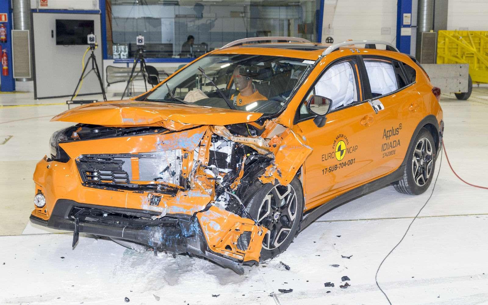 Названы самые безопасные автоновинки прошлого года— фото 834543