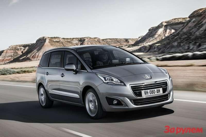 Обновленный Peugeot 5008