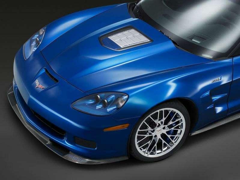 Chevrolet Corvette ZR-1на трассе Нюрбургринга: 7:26.4на круг— фото 348835