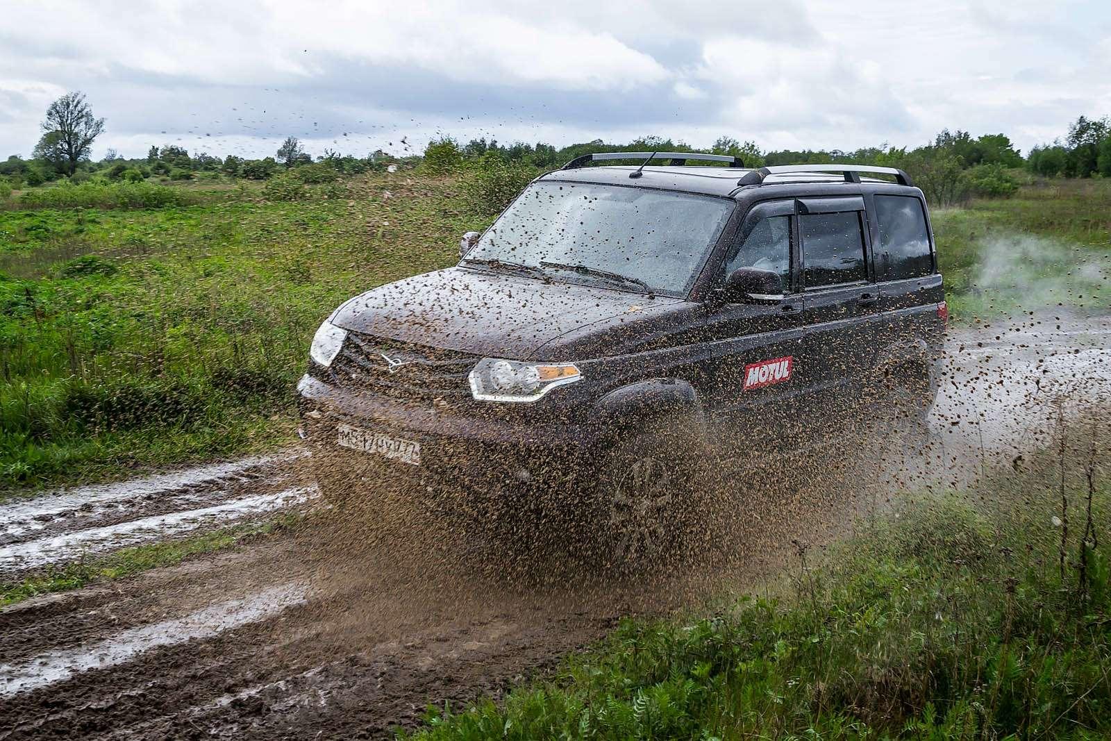 УАЗПатриот, Chevrolet Niva иЛада 4х4— кто круче?— фото 910370