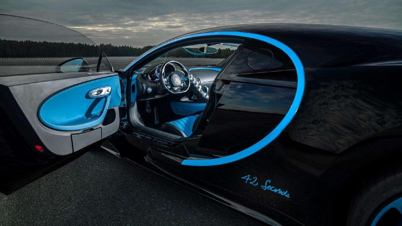 0-400-0 км/ч— видео рекордного заезда Bugatti Chiron— фото 794901